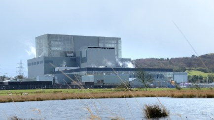 Hunterston B - photograph courtesy EDF Energy Nuclear Generation Ltd