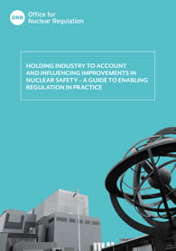 'Holding to Account and Influencing Improvements – Enabling Regulation In Practice'