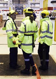 ONR staff on site