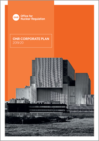 ONR Corporate Plan 2019/20