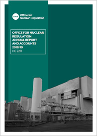 ONR Annual Report and Accounts 2018/19
