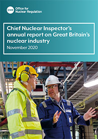 View the Chief Nuclear Inspector's annual report on Great Britain's nuclear industry