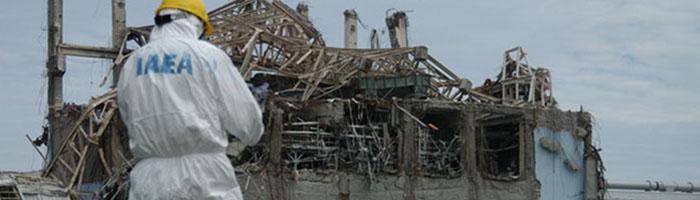 IAEA visit at the Fukushima Dai-ichi nuclear power plant
