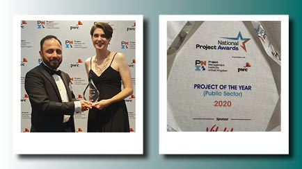 Award for our domestic safeguards project